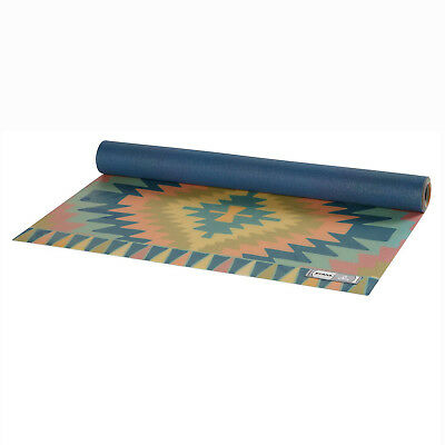 PrAna Belize Printed Superlite Fitness Excercise Travel Natural Rubber Yoga Mat