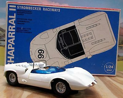 Strombecker Chapparal, 1/24 Scale Vintage Slotcar