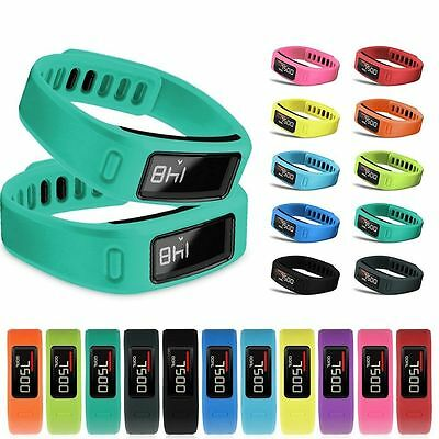 Replacement Wrist Band  Strap W/ Clasp Bracelet For Garmin Vivofit 1/2 Size S/L