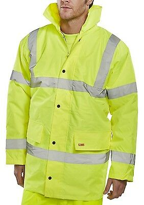BSeen Constructor Traffic Jacket Saturn Yellow 4XL