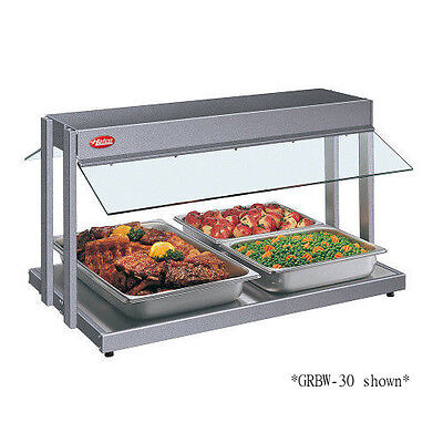 Hatco GRBW-72 Countertop Buffet Warmer with Plexi-Glass Sneeze Guards