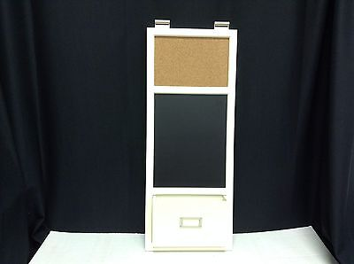 Pottery Barn Daily System Magnetic Multi Use Entry corkboard Office chalk Wall