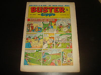 BUSTER and GIGGLE British UK Comic 16th November 1968