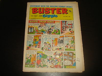 BUSTER and GIGGLE British UK Comic 19th April 1969