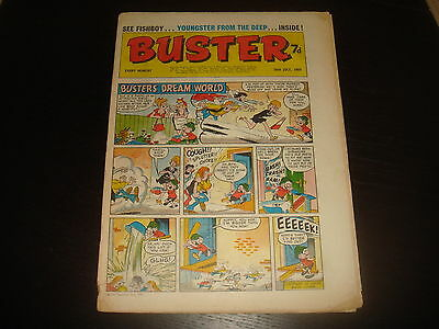 BUSTER  British UK Comic 26th July 1969