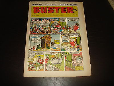 BUSTER  British UK Comic 23rd August 1969