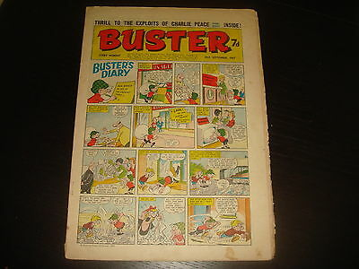 BUSTER  British UK Comic  30th September 1967