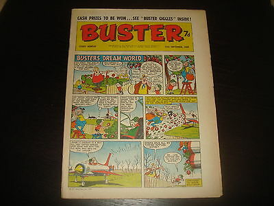 BUSTER  British UK Comic  13th September 1969