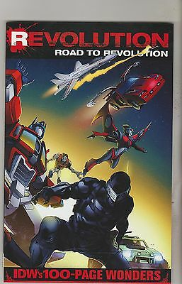 Idw Comics Revolution Road To Revolution October 2016 100 Pages 1St Print Nm