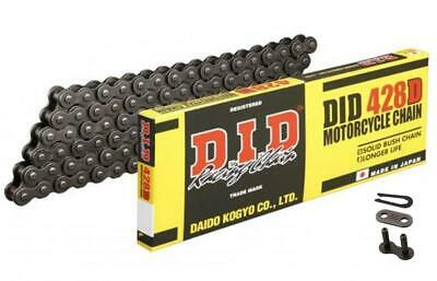 DID STD Motorcycle Chain 428D 126 links fits Kymco 125 Pulsar 01-05