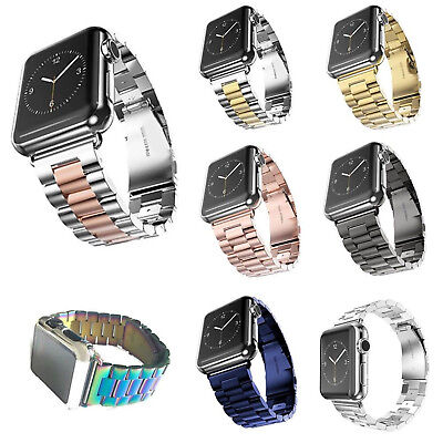 Stainless Steel Bracelet Strap Watch Band For Apple Watch Series 3 iWatch 2 1st