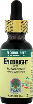 Eyebright Herb Extract, Nature's Answer, 1 oz without Alcohol