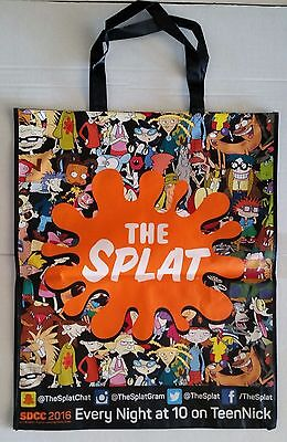 "SDCC Comic Con 2016 EXCLUSIVE THE SPLAT Tote Bag RUGRATS ARNOLD swag bag 23""x28"""