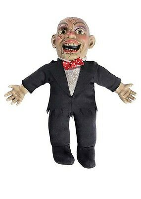 Halloween Prop Ventriloquists Doll with Sound