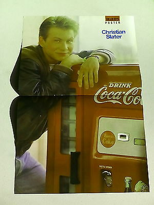 Christian Slater  /  Edward Furlong  Super Mario       Double Page Poster  LMH69