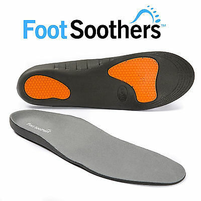 FootSoothers® WorkerPro Insoles Shoe Inserts Pads Ultimate Comfort Gel Foam