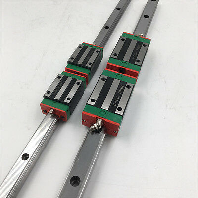 20mm HGR20 L-2500mm Linear Rail Guide&2pc Block HGH20CA Carriage