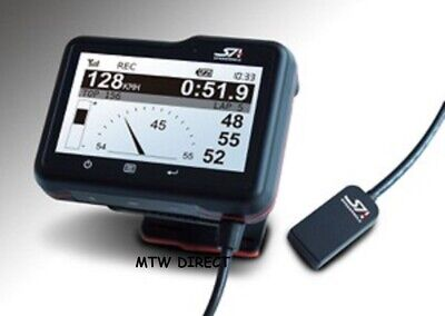 SPEED ANGLE Data Logger Lap Timer & Lean Angle - Motorcycle Bike Road Race Track