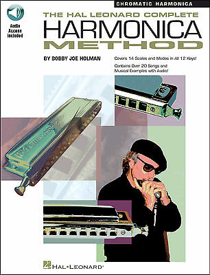 Complete Harmonica Chromatic Book & Audio Download Learn How To Play Mouth Organ