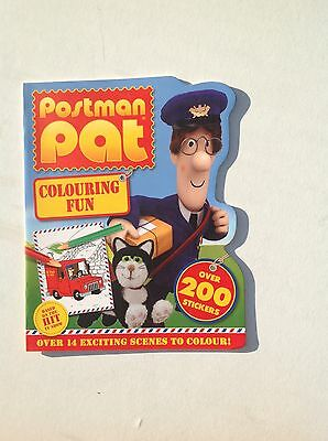 Postman Pat  Colouring Fun book with over 200 stickers