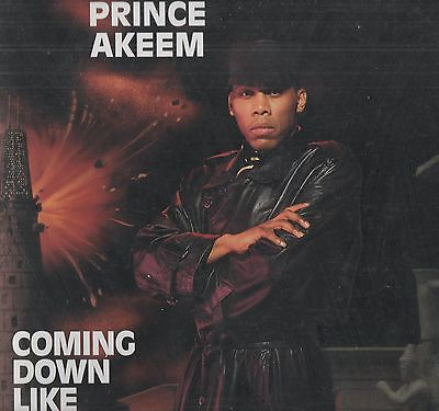 Prince Akeem - 'Coming Down Like Babylon' US Chicago LP. Ex!