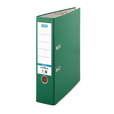 ELBA GREEN A4 BOARD LEVER ARCH FILE / 10 PACK / 70mm / B1045714