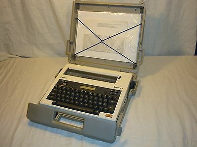 Canon Typestar 5 Electric Typewriter in Factory Case