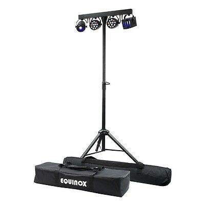 Equinox Microbar Multi System All-in-One T-Bar  DJ Disco LED Lighting Effect Kit
