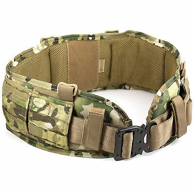 Bulldog MKII MOLLE Combat Military Army Tactical Padded Belt Pad MTP Multicam