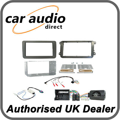 Connects2 CTKVW16 Volkswagen Caddy/Sharan/T6 Double Din Radio Installation Kit