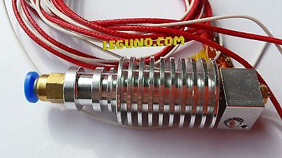 3D Printer Metal J-Head E3D Extruder 0.4mm Nozzle 1.75mm REPRAP longue