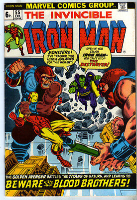 IRON MAN (1968) #55 VFN 8.0 - Back Issue