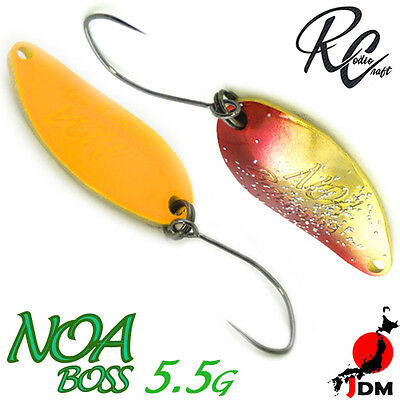 Assorted Colors RODIO CRAFT NOA BOSS 5.5 g Trout Spoon