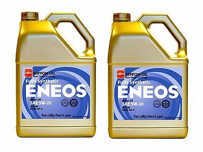 Eneos High Performance SAE 5W20 Full Synthetic Motor Oil 4.73L x2 Jugs