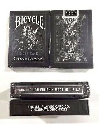 Bicycle RARE Guardians playing cards by Theory11 Air Cushion Finish Magic Poker