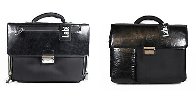Exclusive Pal Zileri Designer Aktentasche Notebook Business Tasche Bag Leder