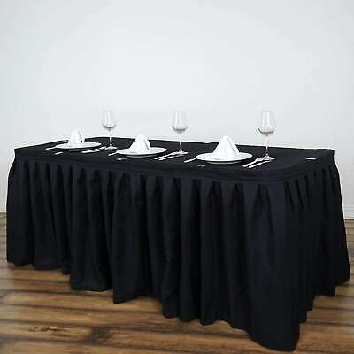 14 Foot ~NEW~ Polyester Table Skirt For Wedding Party Decor