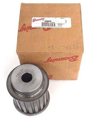 Nib Browning 18Hb300 Gearbelt Pulley