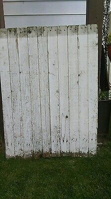 SMALL ANTIQUE Vtg OLD FARM WOOD fence/gate  ARCHITECTURAL SALVAGE.