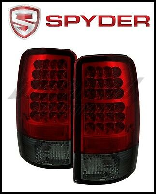 Spyder Chevy Suburban/Tahoe 1500/2500 00-06 LED Tail Lights Red Smoke