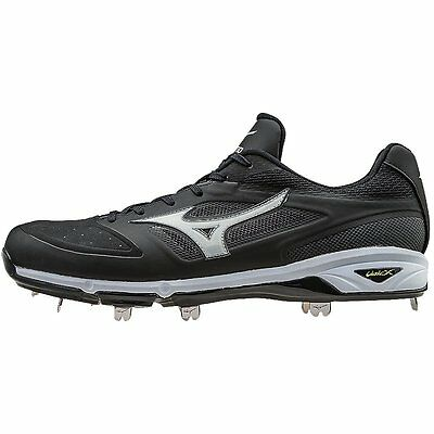 Mizuno Dominant IC Low Baseball Cleat (Black) Size 12.
