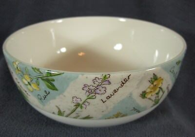 Royal Doulton WILDFLOWERS TC1219 Soup Cereal Bowl (M2) Everyday Floral Rim