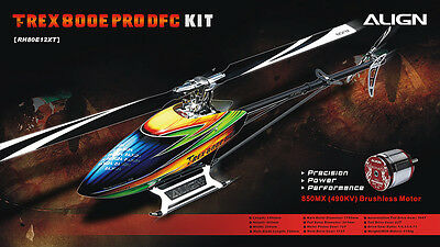 ALIGN Helicopter RH80E12XW  T-REX 800E PRO DFC KIT New
