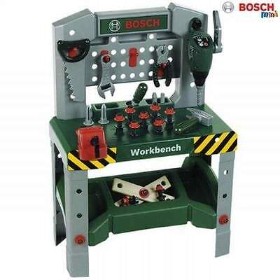 Bosch Kids Deluxe Workbench with Attached Drill, Vice, Saw, Pliers, Hammer & Mor