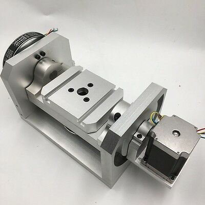 Dividing Head 5th A Axis Ratio 6:1 Rotary Axis for CNC Milling Router