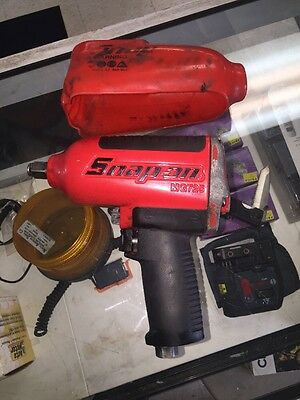 """Snap-on Tools 1/2"""" Drive Impact wrench Gun with Cover # MG725"""