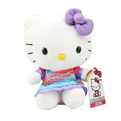 "Hello Kitty Indian Soft Plush Toy 6"" Super Cute Huggable Pal Stuffed Animal"