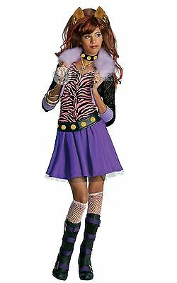 Official Monster High Clawdeen Wolf Disfraz Halloween Día Del Libro Semana