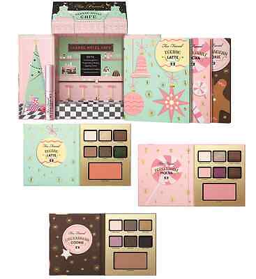 Too Faced Grande Hotel Cafe Eyeshadow Palette Collection Christmas In New York
