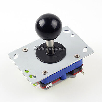 Arcade Short Joystick Classic Competition Style 2 4 8 Way Black Stick MAME JAMMA